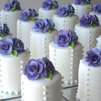 Cakes By Tanya - Custom mini cakes for weddings and anniversaries.